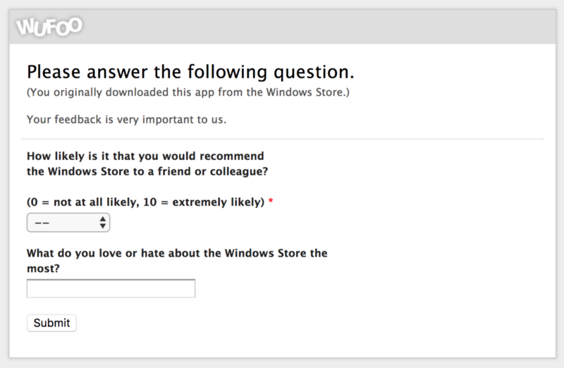 Windows Store survey finds users overall happy with the Store 2
