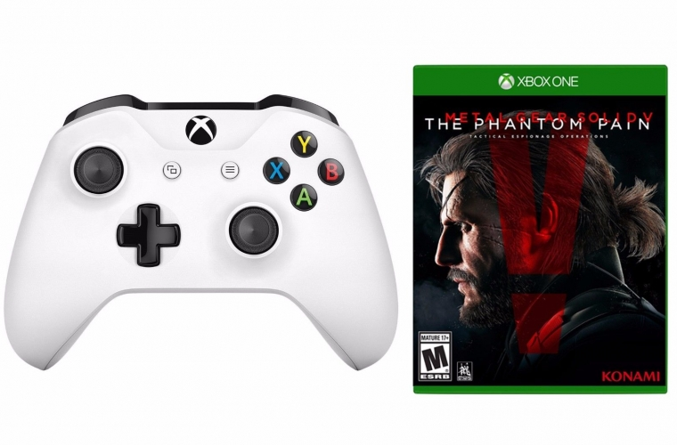 Deal: Get Metal Gear Solid V: Phantom Pain and Xbox One S Wireless Controller for $39.99 19
