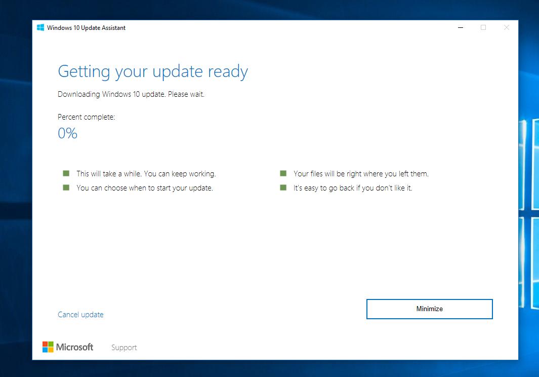 Windows 10 Creators Update's Update Assistant leaks, confirms RTM build number 2