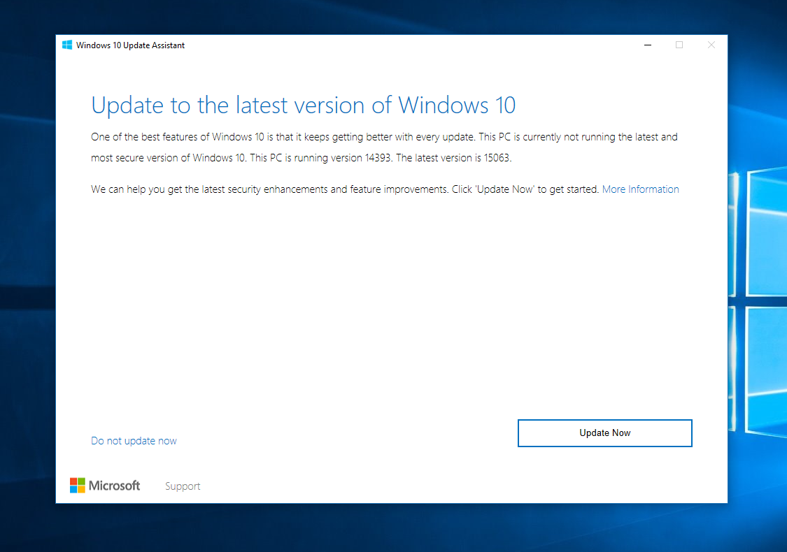 Windows 10 creators update now available via update assistant tool windows 10 creators update is now rolling out via windows 10 update assistant tool as we reported last week windows 10 update assistant tool allows users ccuart Image collections