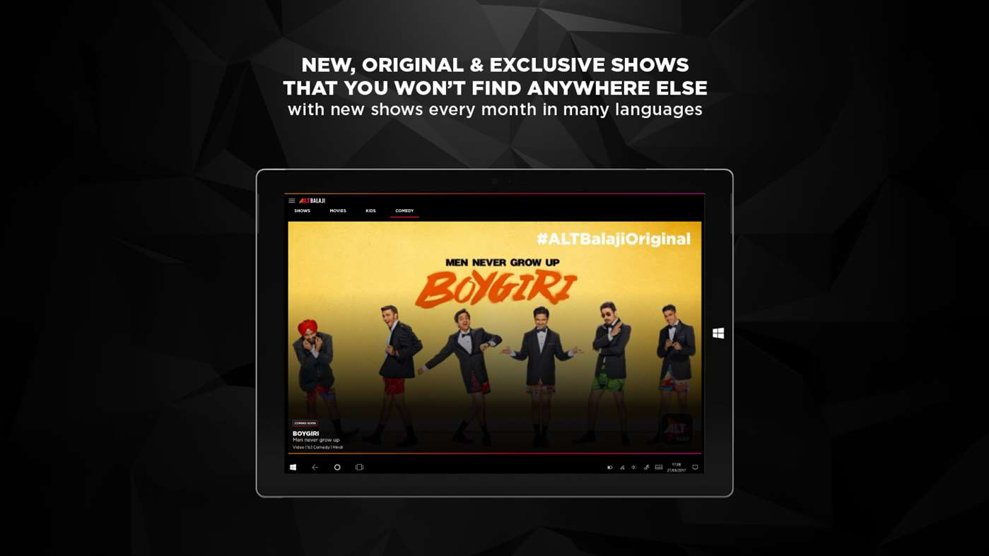 Official ALTBalaji video app now available for Windows 10 devices 1