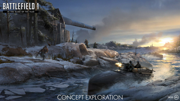 Battlefield 1's latest expansion asks players to brave the Russian Winter 2