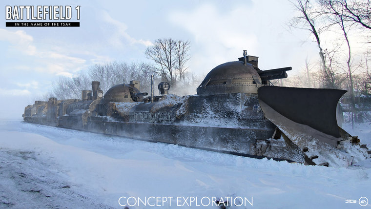 Battlefield 1's latest expansion asks players to brave the Russian Winter 3