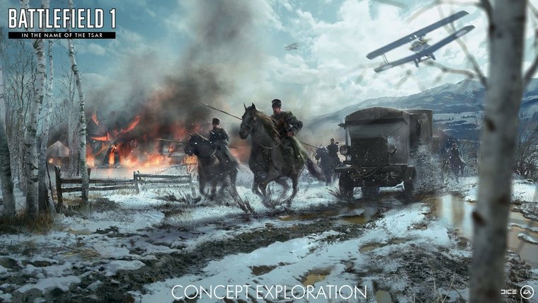 Battlefield 1's latest expansion asks players to brave the Russian Winter 1