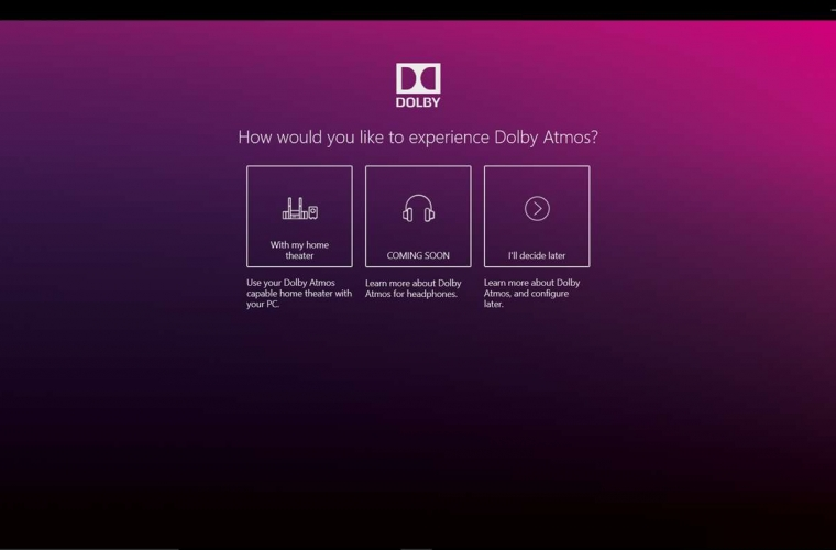 Dolby Atmos app now available for Windows 10 devices 18