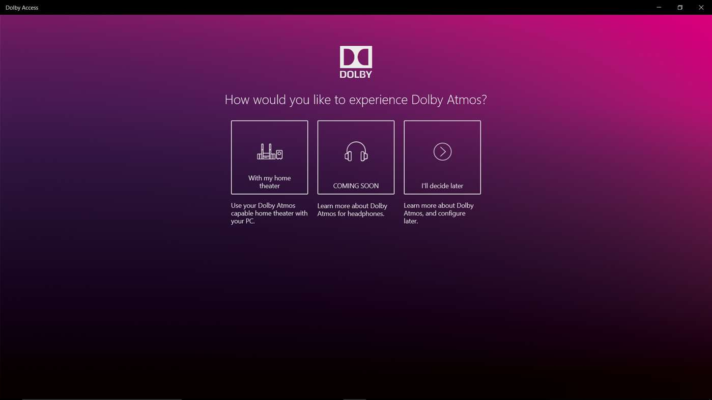 Dolby Atmos app now available for Windows 10 devices - MSPoweruser