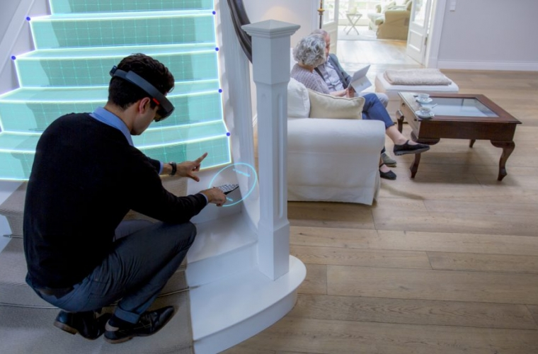 Check out how thyssenkrupp uses HoloLens to transform their home mobility solutions business 1