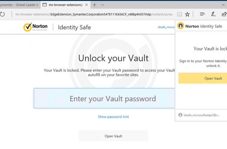 Edge browser adds new Password Vault support 23