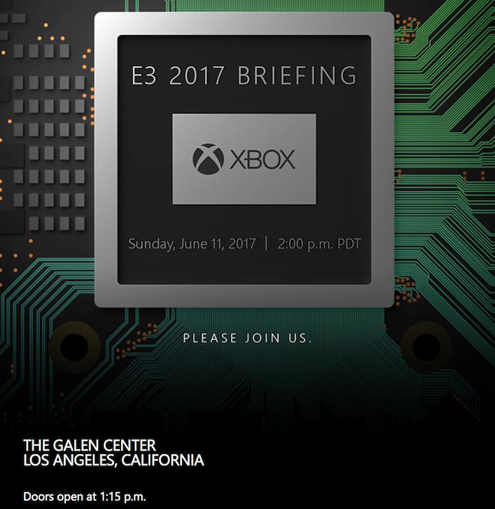 Press invites confirm Project Scorpio to be unveiled at E3 2017 2
