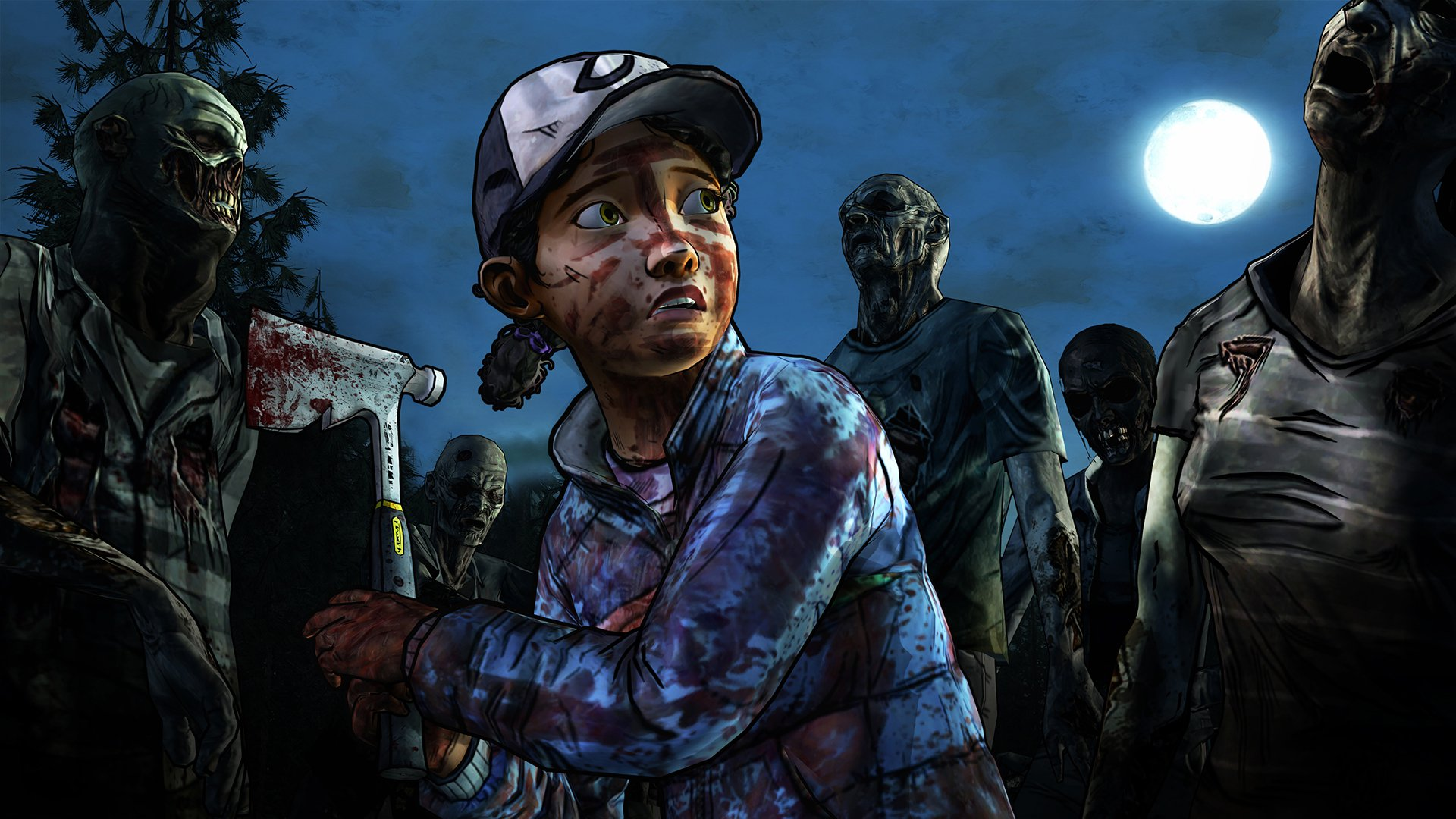 Multiple The Walking Dead Games Are Joining Backward