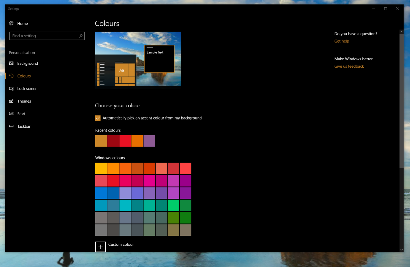 How To Apply Themes To Pcs And Tablets On The Windows 10 Creators Update Mspoweruser