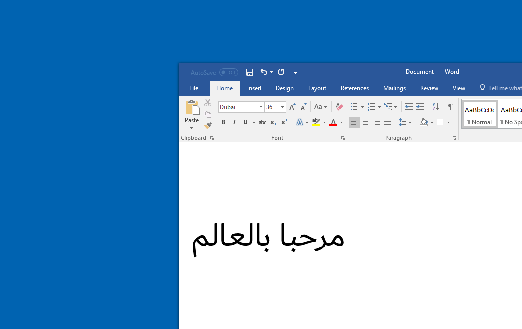 Microsoft launches new Arabic font in partnership with The