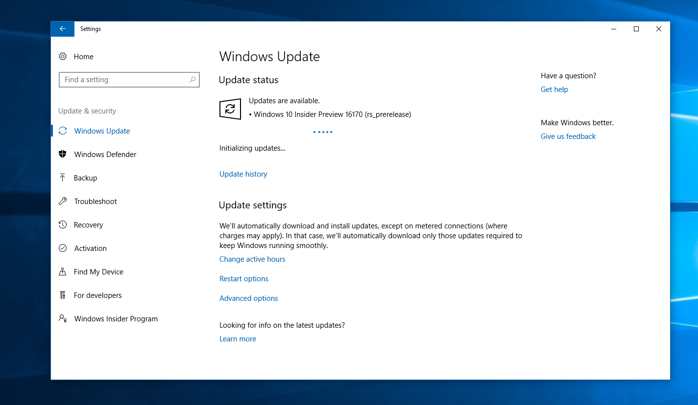 Windows 10 redstone 3 is here mspoweruser windows 10 creators update aka redstone 2 is set to start rolling out next week but microsoft is today releasing the first insider preview build for the ccuart Choice Image
