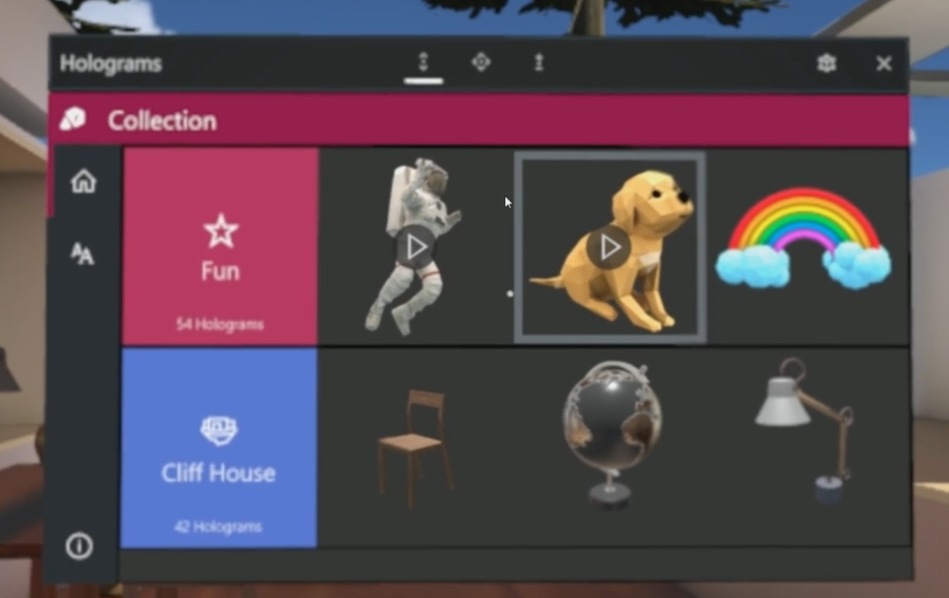 Microsoft releases new Holograms app for Windows Mixed