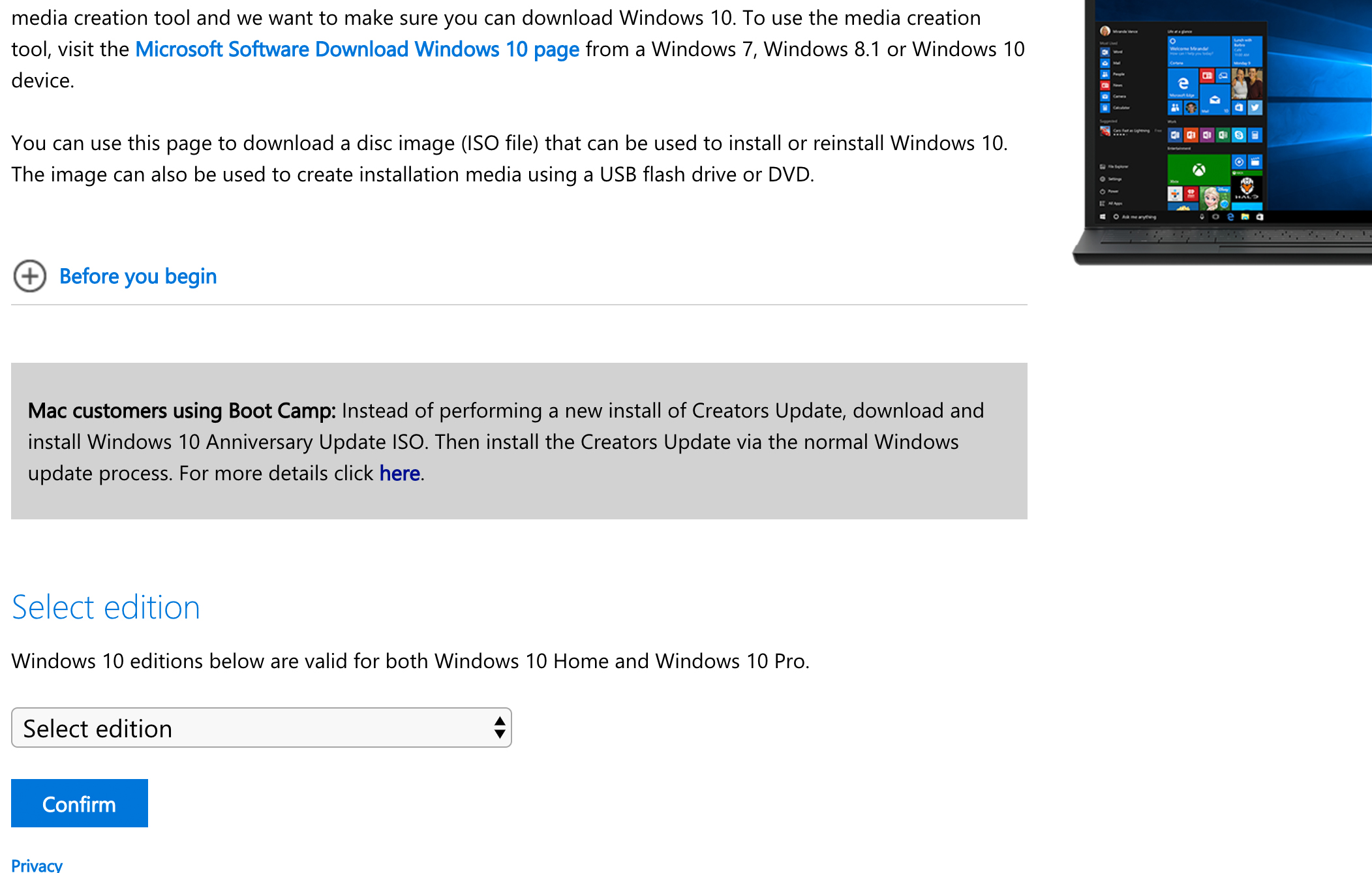 download boot camp windows 10