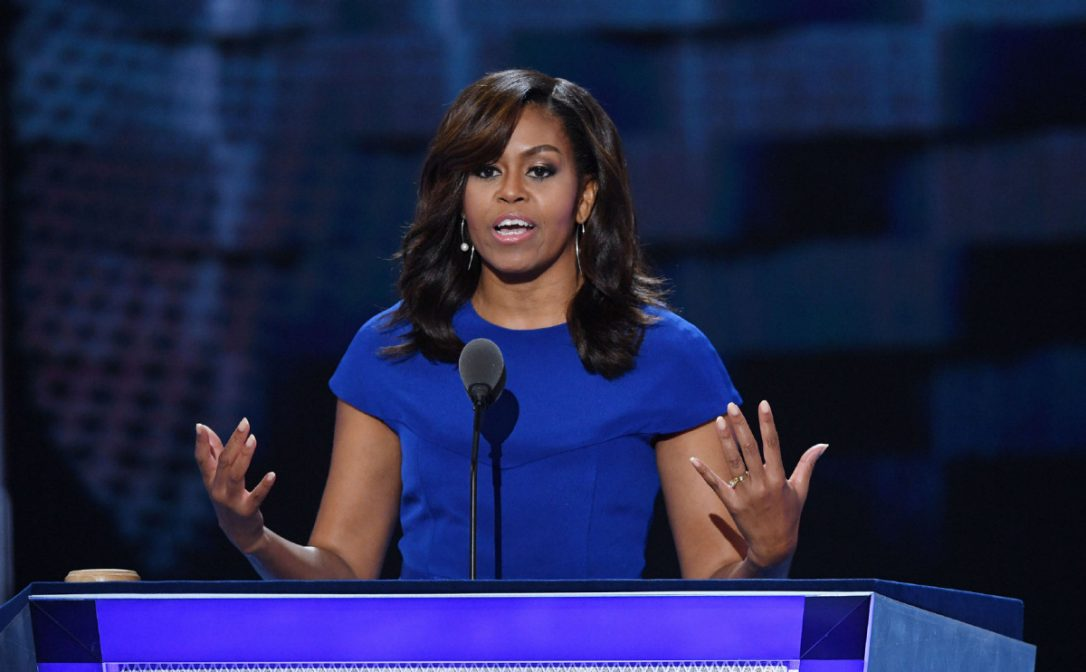 Former First Lady Of The United States Michelle Obama To