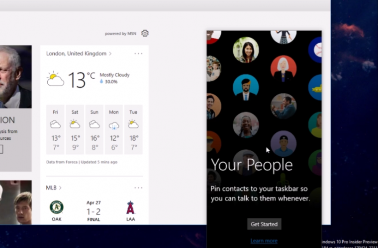 Video: A closer look at Windows 10's new My People experience 4