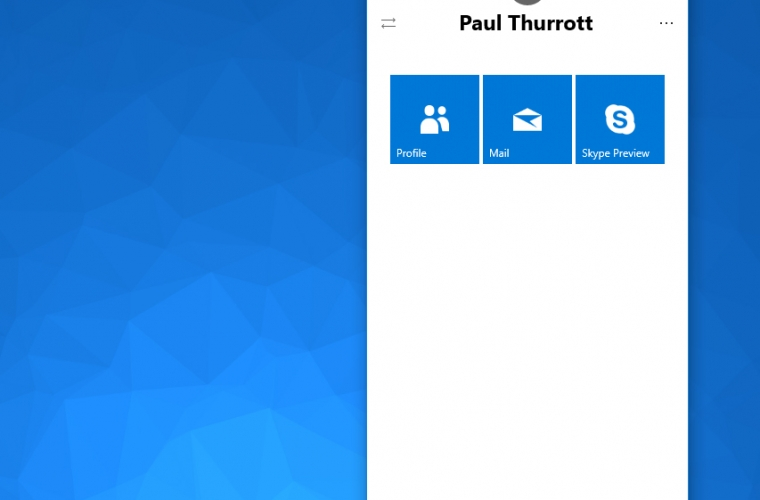 Early version of Windows 10's My People feature shows up in Redstone 3 (screenshots) 14