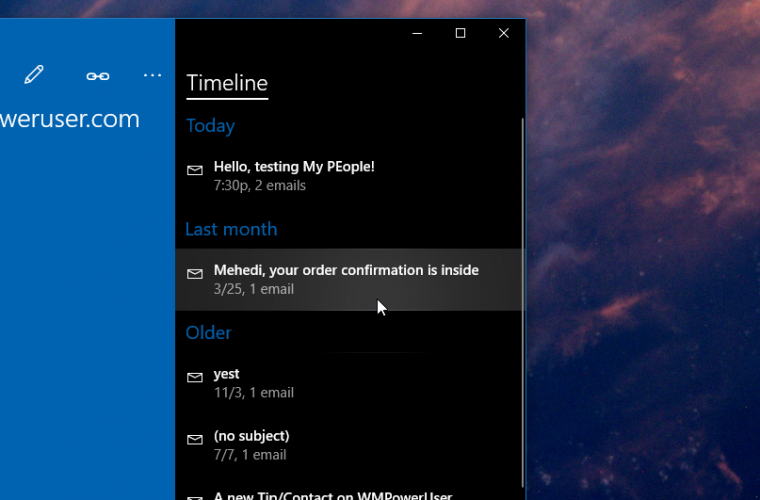 Elements of Project NEON shows up early in Windows 10 Redstone 3 3