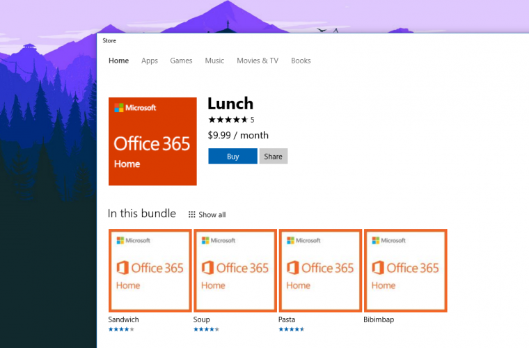 You will soon be able to purchase Office 365 subscriptions from the Windows Store 26