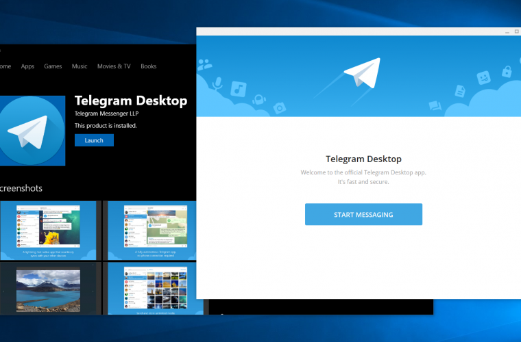 Telegram Desktop for Windows 10 updated with plenty of useful new features 1