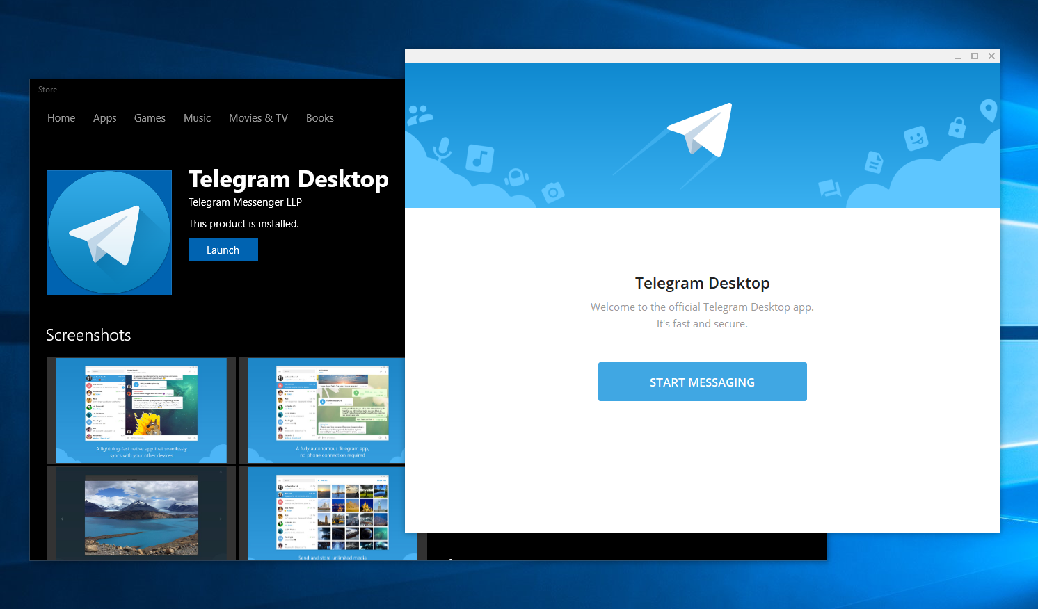 Telegram desktop app updated with a number of improvements