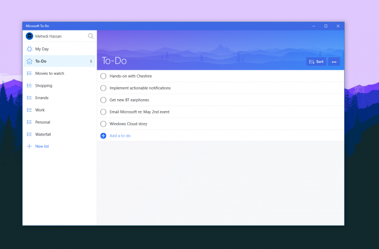 Microsoft To-Do gets better error messaging to help you know what went wrong 10