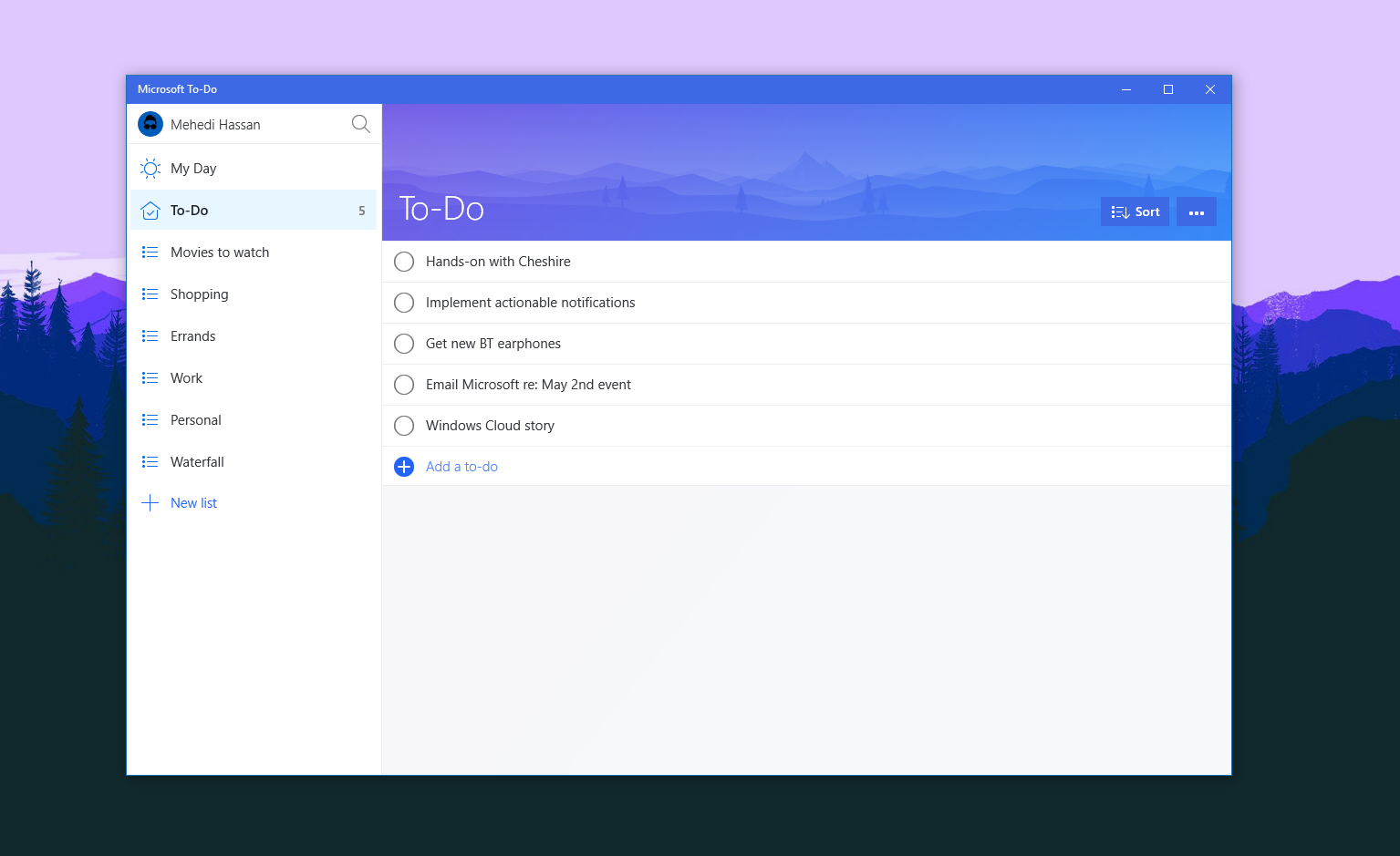 Microsoft is integrating the To-Do app with the Mail and