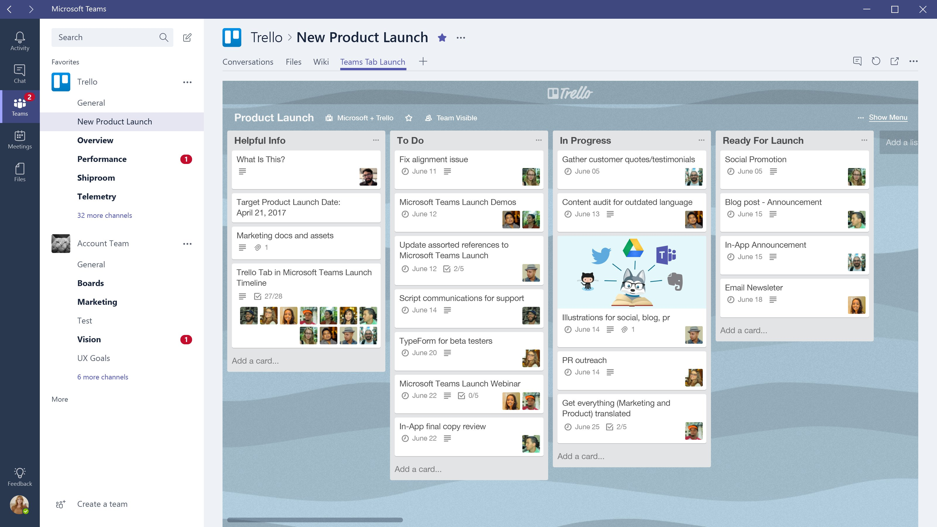 Microsoft Teams gets its killer app with Trello integration