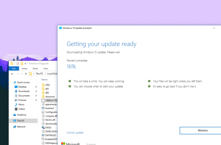 Windows 10 Creators Update now available via the Update Assistant 1