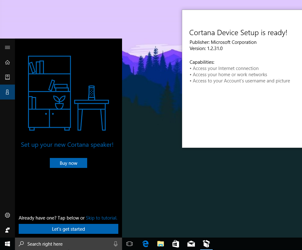 Early look: Here's how the setup experience for Microsoft's Amazon Echo competitors will work on Windows 10 2