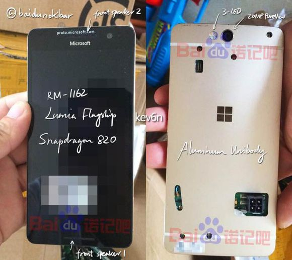 More pictures of the cancelled Lumia 960 confirms a gorgeous handset 5