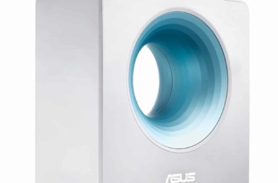 Asus's Blue Cave Router will stare deeply into your soul 1