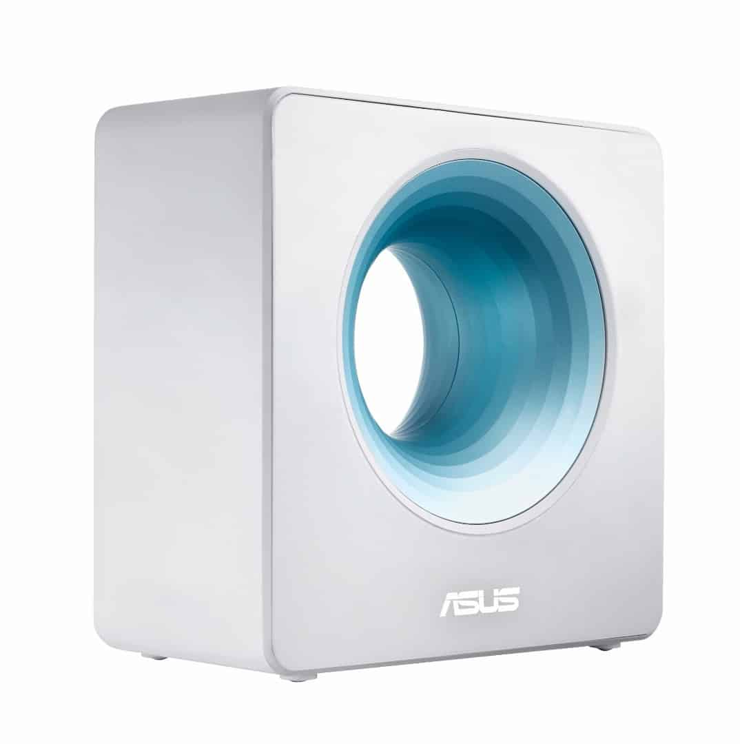 Asus' new Wi-Fi router looks like a Dyson bladeless fan