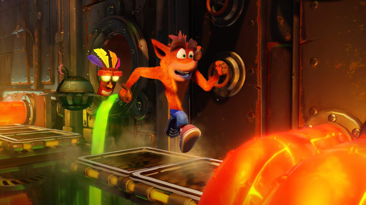 Crash Bandicoot N Sane Trilogy Trailer Shows Updated Jetpack Level
