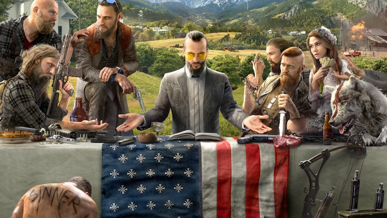 New Far Cry 5 image shows off characters, weapons, and possible plot