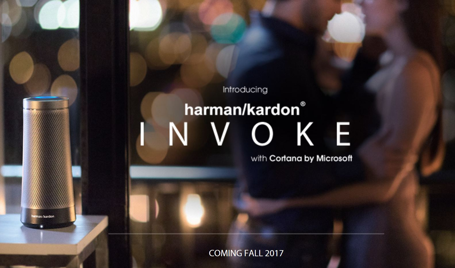 Invoke Cortana-powered speaker
