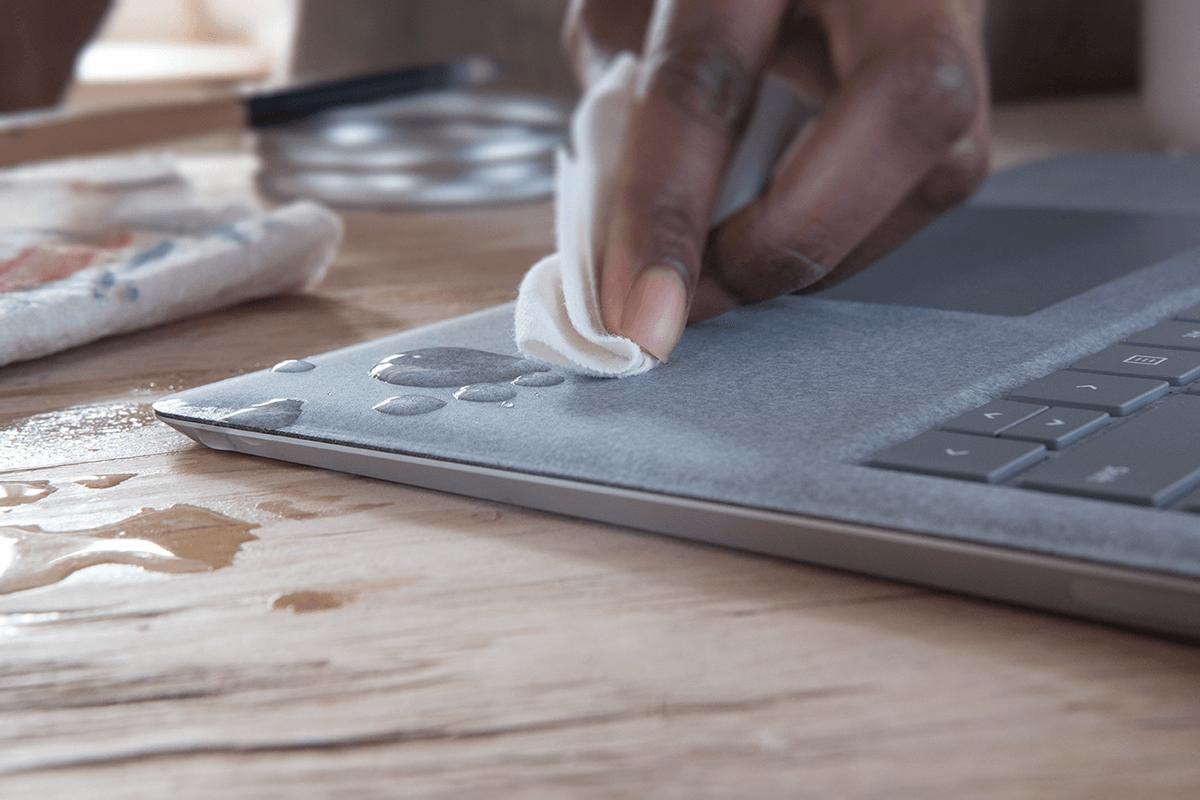 Surface Laptop S Alcantara Covered Keyboard Should Be