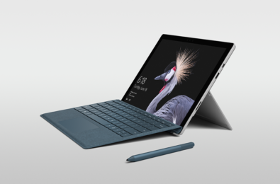 The new Surface Pro Type Cover takes cues from the Surface Laptop's keyboard 12