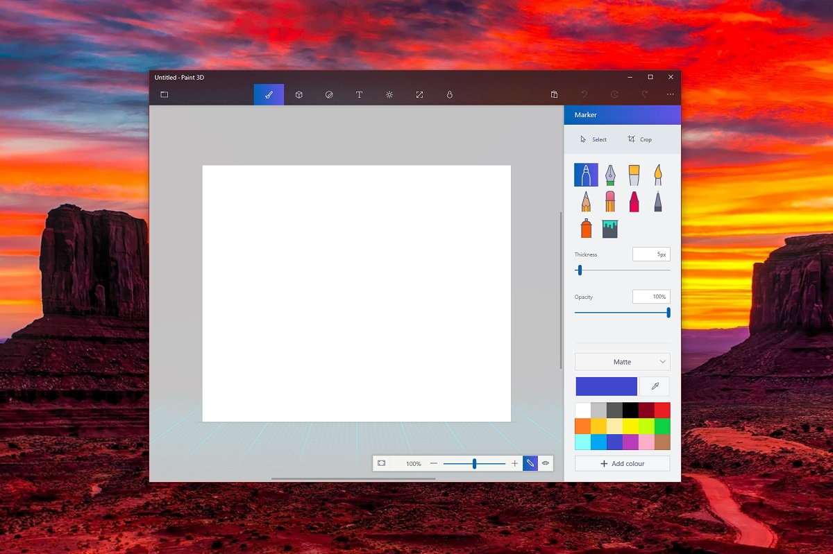Microsoft 39 S Paint 3d App Gets A Project Neon Update