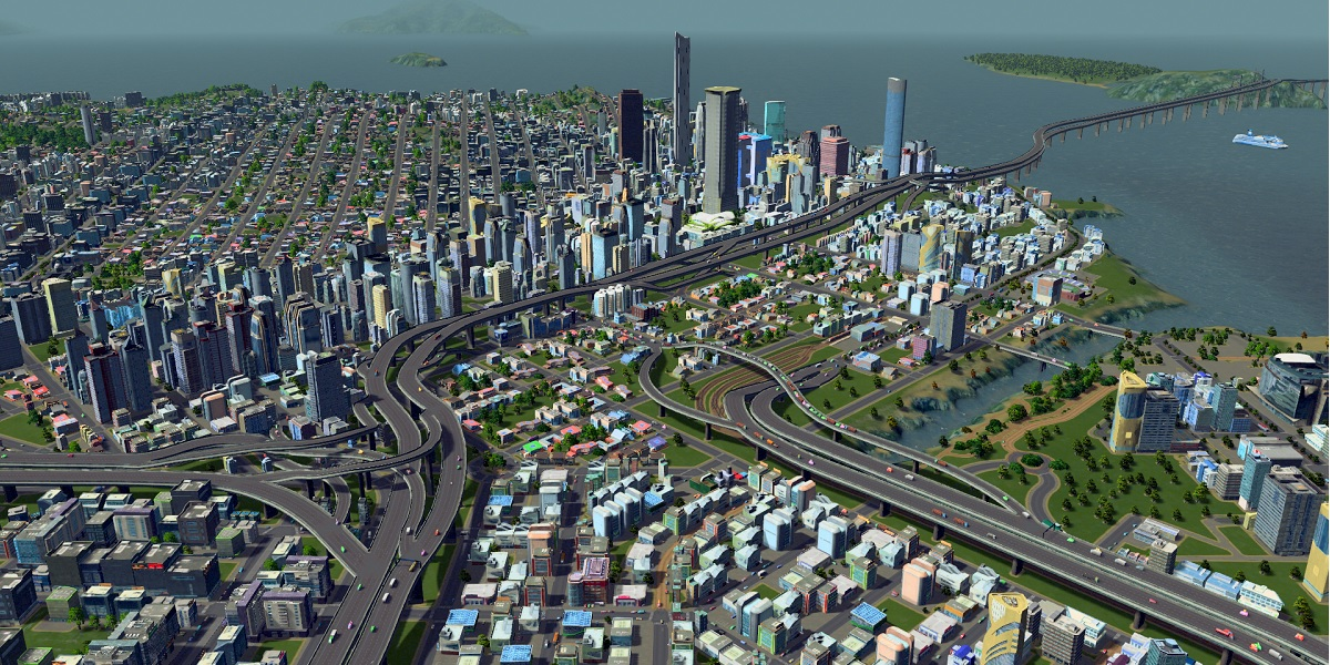 Cities skylines on xbox one is going to get pc content for Us city skylines photos