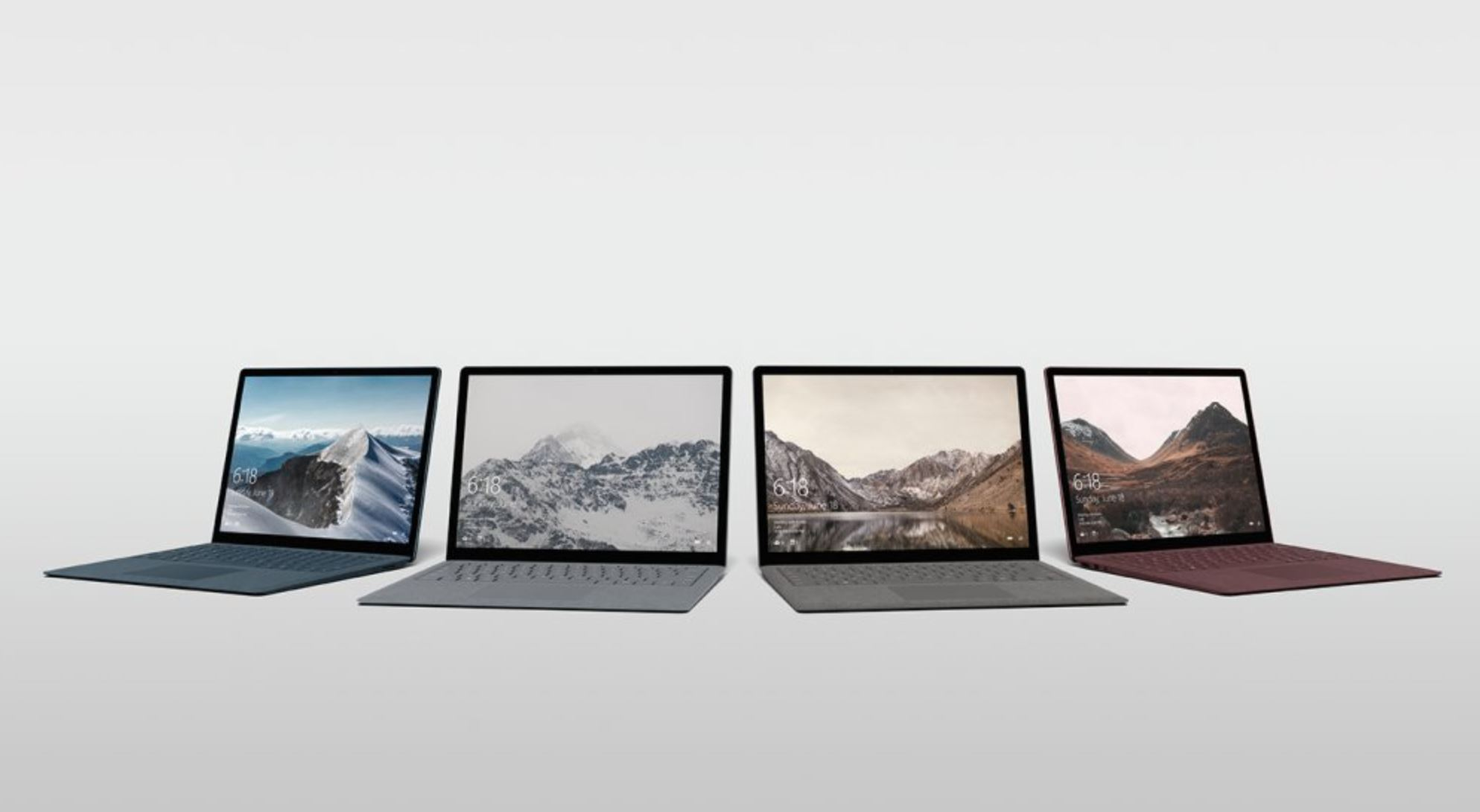 Microsoft launches Surface laptop, streamlined Windows 10