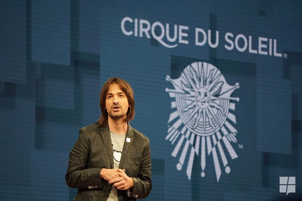 Microsoft partners with Cirque Du Soleil for mixed reality stage design