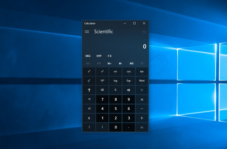 [Update: And more apps] Even the Calculator app in Windows 10 has Project NEON now 17