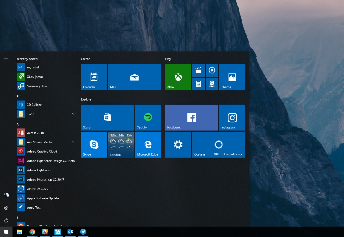 Microsoft releases Windows 10 Insider Build 18219 (19H1) for
