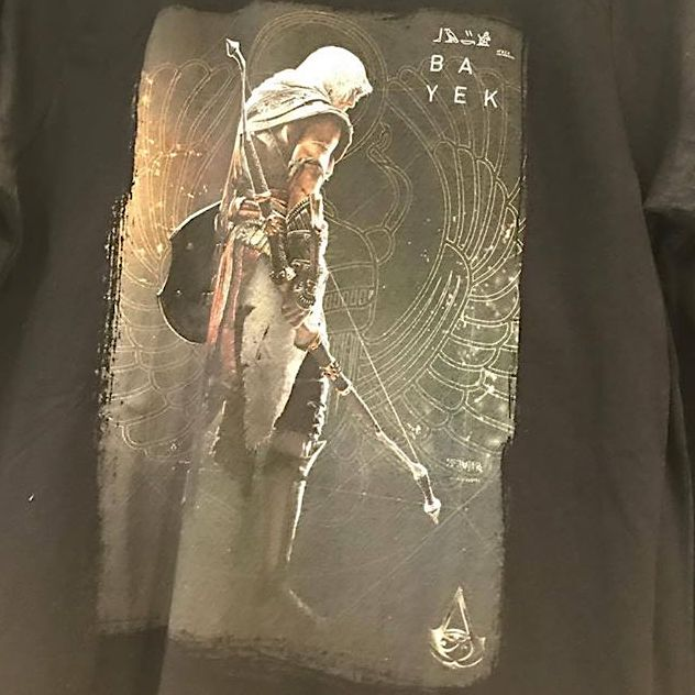 New Assassin's Creed Protagonist Seemingly Leaked By T-Shirt
