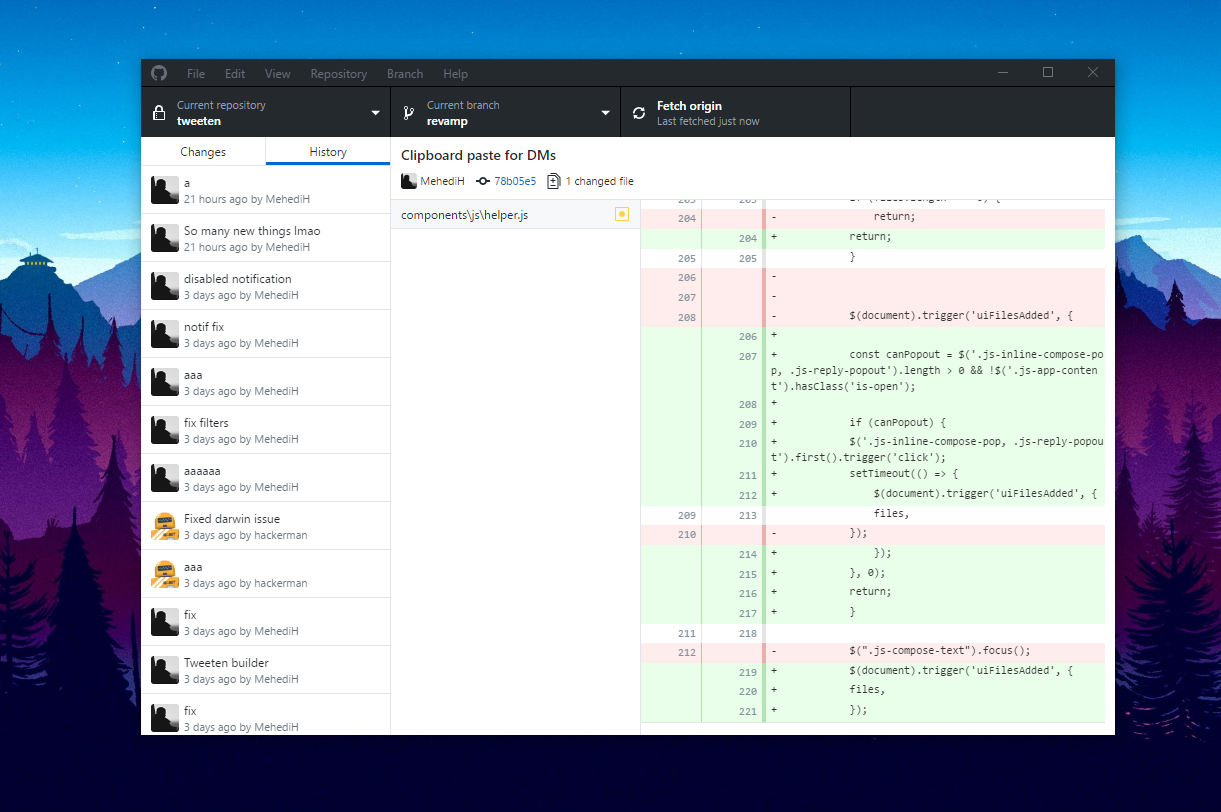 Github introduces a brand new desktop app built on for Brand windows