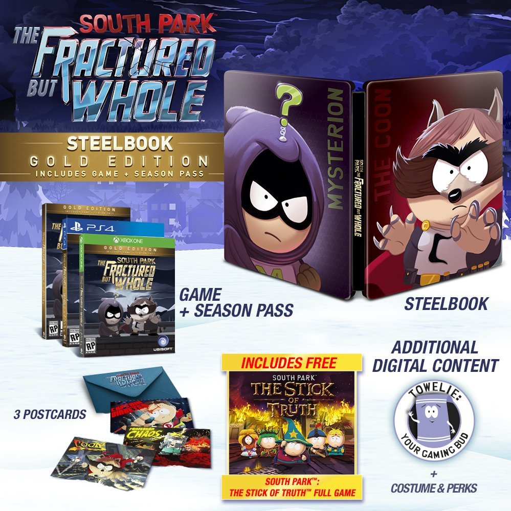 South Park: The Fractured But Whole Releasing on October 17th