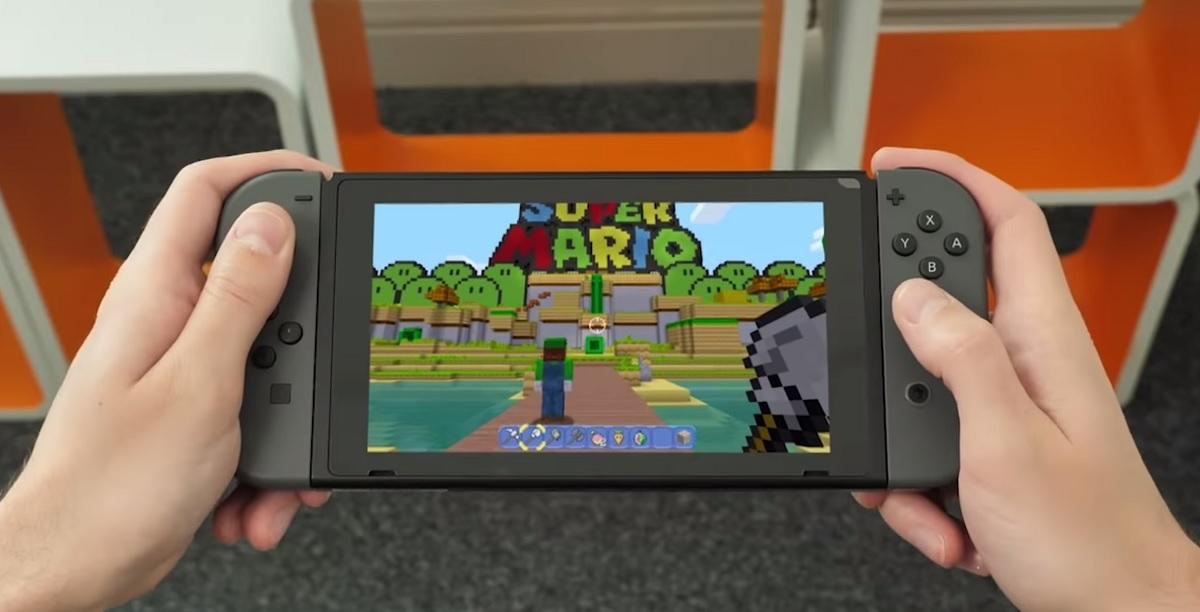 Minecraft Comes To Nintendo Switch Mspoweruser