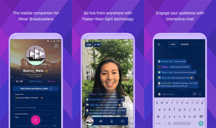 Microsoft now lets you stream games from Android and iOS with Mixer 1